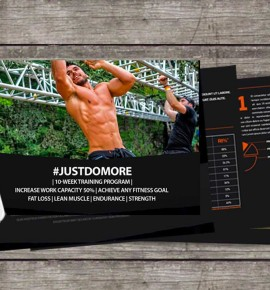 #JustDoMore: Increase Work Capacity & Make ANY Fitness Goal Easier