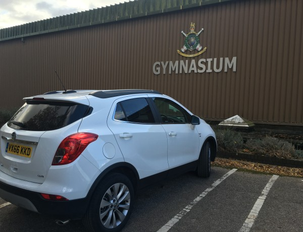 Tree-athlon Training & (Vauxhall Mokka X) Transport Logistics
