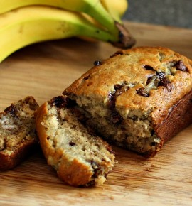 Choc Chip Banana Bread (Recipe)
